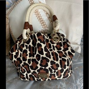 *RARE* Michael Kors leopard print purse